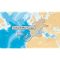 Navionics Updates 46XG CENTRAL & WEST EUROPE Marine & Lake Charts on SD/MSD
