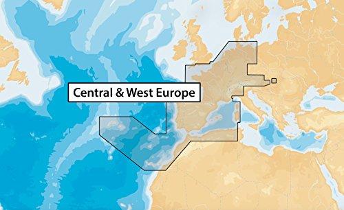 NAVIONICS microSD–Seekarte, Zone 46x G Zentrum und West-Europa