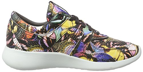 Esprit Cloudi Print Lu, Baskets Basses femme Bleu - Blau (410 bright blue)