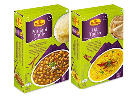 Haldiram's Punjabi Chole & Dal Tadka ( Combo Pack )  available at amazon for Rs.150