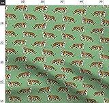 Tiger, Tara Put, Große Katze, Zoo, Russland Stoffe -