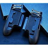 جهاز تحكم آيباد من بوجي بتصميم ستة أصابع من بوجي - مقبض لوحة تحكم محمول L1R1 Fire Aim Button عصا تحكم لأجهزة آيباد تابلت FPS
