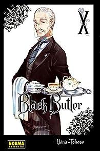 Black Butler 10 par Yana Toboso