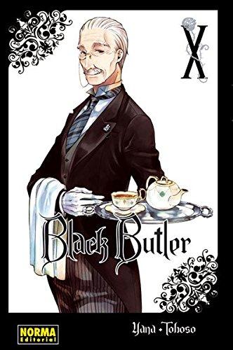 Black Butler 10 por Yana Toboso