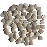 Rhinestone Paradise Perlmutt Mosaiksteine Mosaik 100 Stück Perlmuttmosaik Einlegearbeiten Dekoration Plättchen Muschel-mosaik