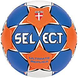 Select Ultimate - Balón de balonmano azul Blau/Orange/Weiß Talla:2