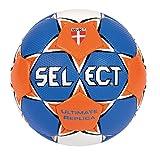 Select Ultimate Replica Ballon de handball 2 Bleu - Bleu/orange/blanc