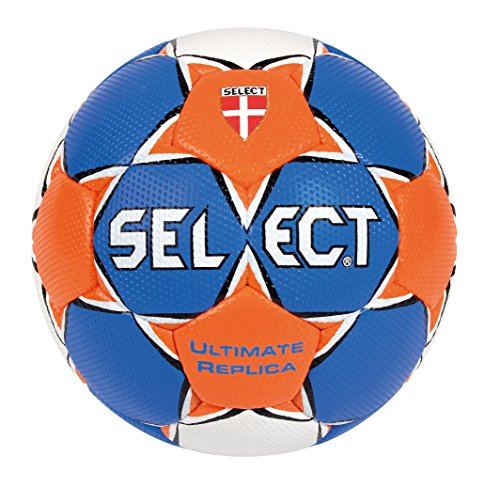 Select Ultimate - Balón de balonmano azul Blau/Orange/Weiß Talla:2