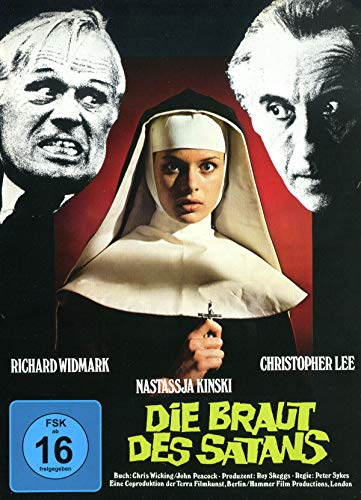 Die Braut des Satans - Mediabook - Cover B - Hammer Edition Nr. 26 - Limited Edition [Blu-ray]