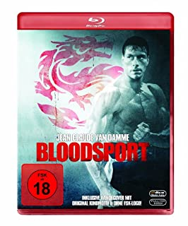 Bloodsport [Blu-ray] (umkehrbares cover bild)
