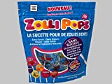 Zollipops, la sucette pour de zolies dents, sucette anti-caries, sachet de 85g, parfums assortis