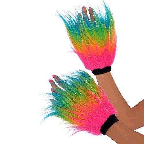 Fell-Schweißband Regenbogen (Regenbogen Helle Halloween Kostüme)