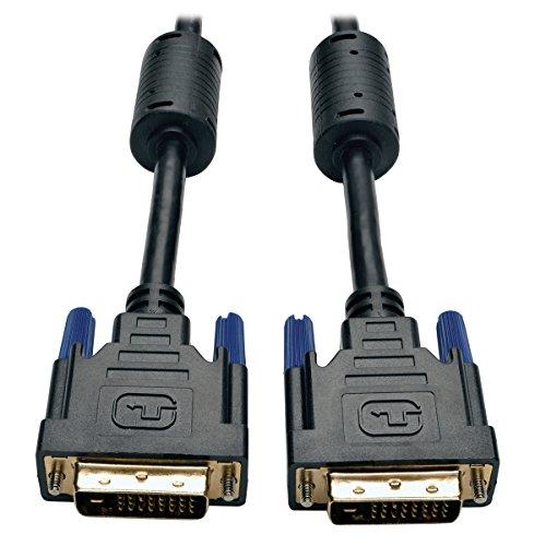 Tripp Lite-schwarz-audio-kabel (Tripp Lite DVI Dual Link Kabel, digital Digital Monitor Kabel (DVI-D M/M) schwarz schwarz 4.57 m (15-ft.))