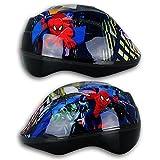 Disney Kinderfahrradhelm mit Motivauswahl - Fahrradhelm - Rollschuhhelm - Inlinerhelm - Skateboardhelm (Spider-Man)