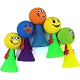 Smiley Emoji Jump Elf Fly Toy Birthday Party Return Gift Favors For Kids -Set Of 20