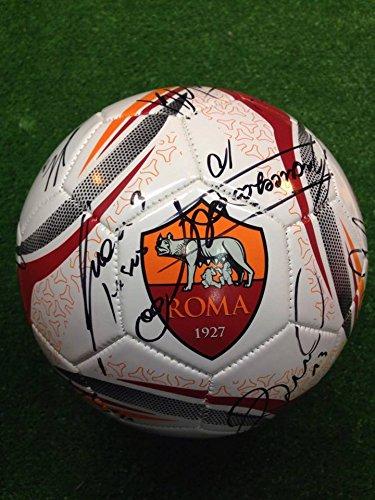 pallone-ufficiale-autografato-as-roma-2016-2017