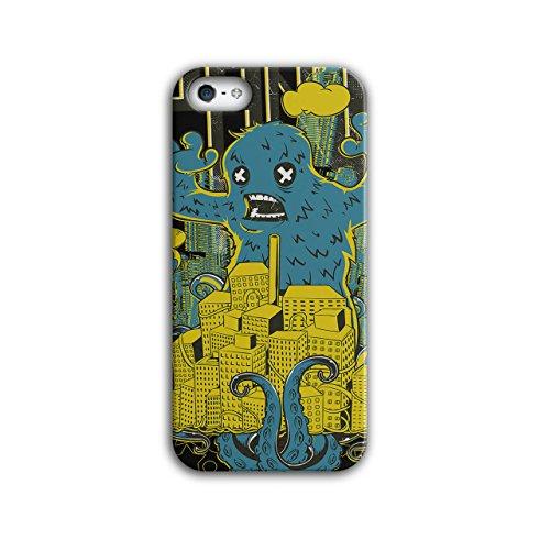 Panik Monster Stadt Horror Chaos Leben iPhone 5 / 5S Hülle | Wellcoda (Geist Halloween Stadt)