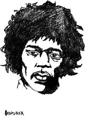 Mister Borsa Di Merchandise Jimi Hendrix Borsa Di Tela Jimy, Colore: Nero Natura