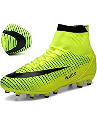 BOLOG Size UK2.5-10.5 High Top Football Boots AG Soccer Boots Mens