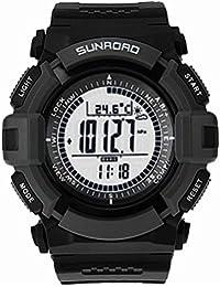 Sunroad FR821A multifuncional digital resistente al agua reloj deportivo Pesca barómetro por Express Panda