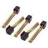 Aexit Connettore per cablaggio a 5 pin per cavo di alimentazione CC 12V / 24V 80A 5-pin 5 pin per auto ID: 863702