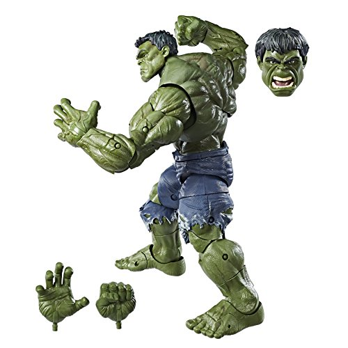 Helden Kostüm Marvel Hulk - Hasbro Marvel C1880EU4 -Legends Hulk 12 Zoll, Actionfigur