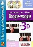 minvielle sebastia initiation au piano boogie woogie en 3d bk cd dvd