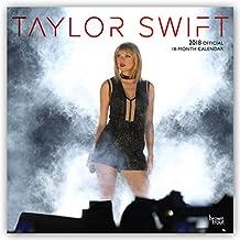 Taylor Swift 2018 - 18-Monatskalender: Original BrownTrout-Kalender [Mehrsprachig] [Kalender] (Wall-Kalender)