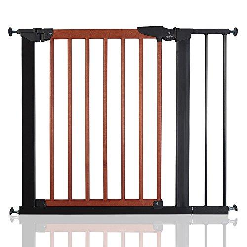 BabyDan Cancelletto Avantgarde 71cm -117cm (84cm - 91cm, nero e legno di ciliegio)