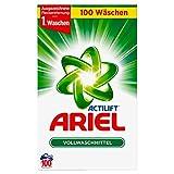 Ariel Vollwaschmittel Pulver, 1er Pack (1 x 100 Waschladungen)