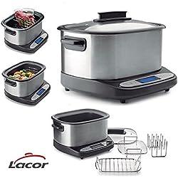 Lacor 69493 - Máquina multifunción para cocinar sous vide, 1500 W, 6 litros