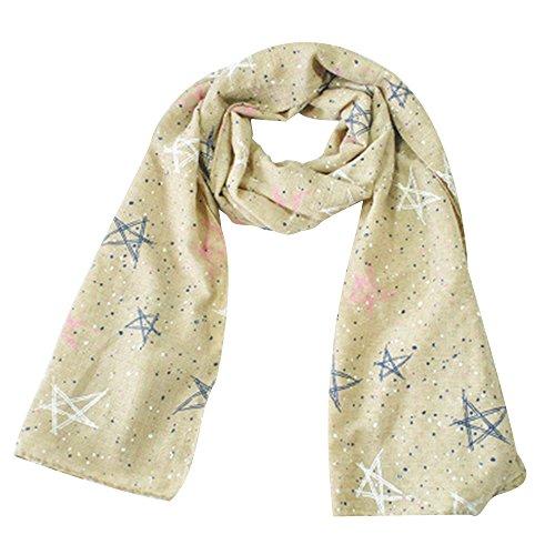 Bonitas bufandas modernas y calientes de Zedtom, para niñas, diseño de...