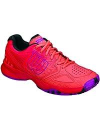 Wilson Kaos Comp W Radiant.r/Coral Punc/pk, Zapatillas de Tenis para Mujer