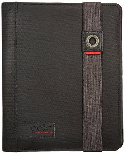 golla-harvey-libro-negro-gris-fundas-para-tablets-libro-negro-gris-algodn-polister-poliuretano-apple