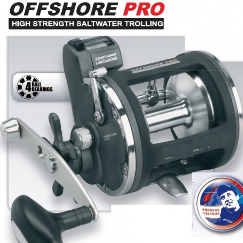 Spro Multirolle Linkshand Offshore Pro 4300 LH für Norwegen