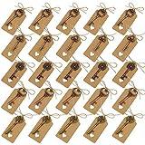 Schlüssel Flaschenöffner 5 Stile Sortierte Vintage Skeleton Keys mit Umbau-Karten Gastgeschenk für Hochzeit Babyfeier Partygäste Bankett Bar 25 Stück -