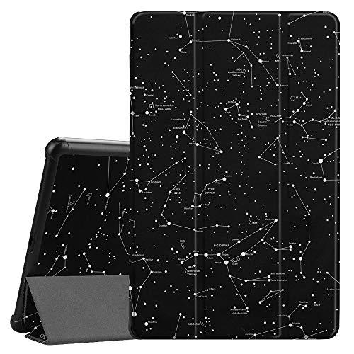 Fintie Hülle für Samsung Galaxy Tab A 10.5 2018 - Ultra Schlank Superleicht Schutzhülle Cover Case mit Auto Schlaf/Wach Funktion für Galaxy Tab A SM-T590/T595 10.5 Zoll Tablet-PC, Sternbild