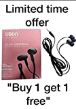#2: Higadget Ubon Bm-03 Bomb Universal Audio Bass In Ear Earphone/Headphone With MIc