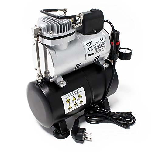 Cheapest Price for Airbrush Compressor AF186 with Air Tank Start Stop automatic Manometer Review