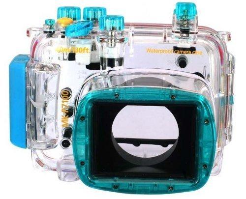 CameraPlus - Unterwasser digitalkamera - Unterwassergehäuse für Nikon Coolpix P7100 bis 40m Wasserdicht leicht bedienbar