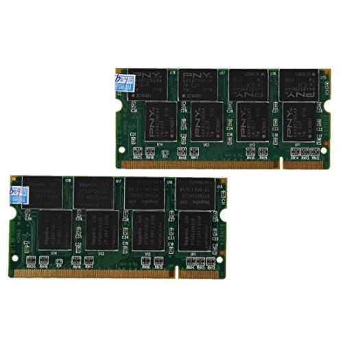Laptop Arbeitsspeicher - TOOGOO (R) 2GB 2x1GB PC2700 DDR333 Non-ECC 200-Pin CL2.5 Laptop (SODIMM) Arbeitsspeicher (RAM) Neu - 333mhz Ddr-sdram Notebook-speicher