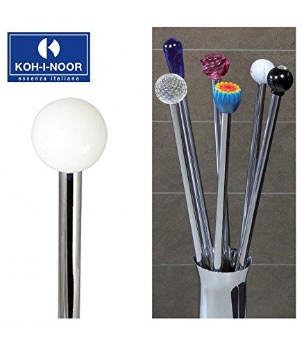 Koh-I-Noor 57110 Porta Scopino Frac Pomolo in Vetro, 77 cm