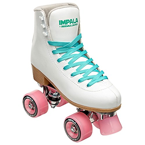 Impala Sidewalk Skates Rollerskates Quad White US 9 -