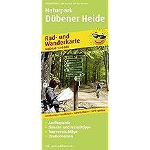 Naturpark Dübener Heide: Rad- und Wanderkarte mit Ausflugszielen, Einkehr- & Freizeittipps, wetterfest, reißfest, abwischbar, GPS-genau. 1:60000 (Rad- und Wanderkarte / RuWK)