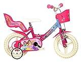 Dino Bikes 124RL-PSS Disney Prinzessinnen-Fahrrad 30,5cm (12Zoll)
