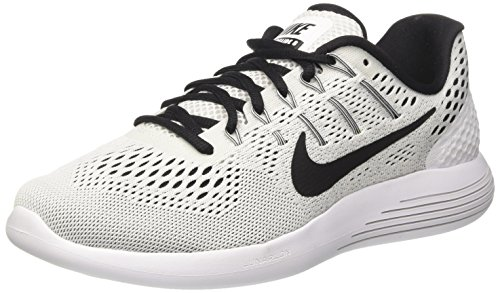 Nike Lunarglide 8, Zapatillas de Running para Mujer, Multicolor (White/Black), 37.5 EU
