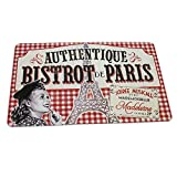Natives Bistrot de Paris - Set di tavolo PVC 43,5 x 28,5 x 2 cm