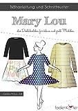 Stoffe Werning Schnittmuster Fadenkäfer Mary Lou - Mädchen Kleider & Tellerröcke Papierschnittmuster