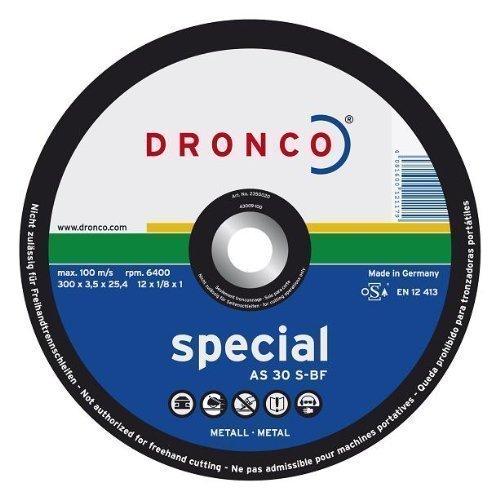 DRONCO SPECIAL METAL - DISCO CORTE METAL AS30S 350X3 5X32MM
