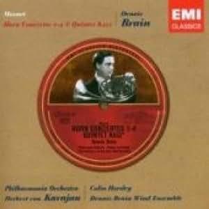 Mozart : Concertos pour Cor n° 1, n° 2, n° 3 et n° 4 - Quintette K452